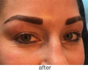 Shading brow 5