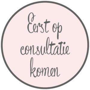 Eerst op consultatie komen