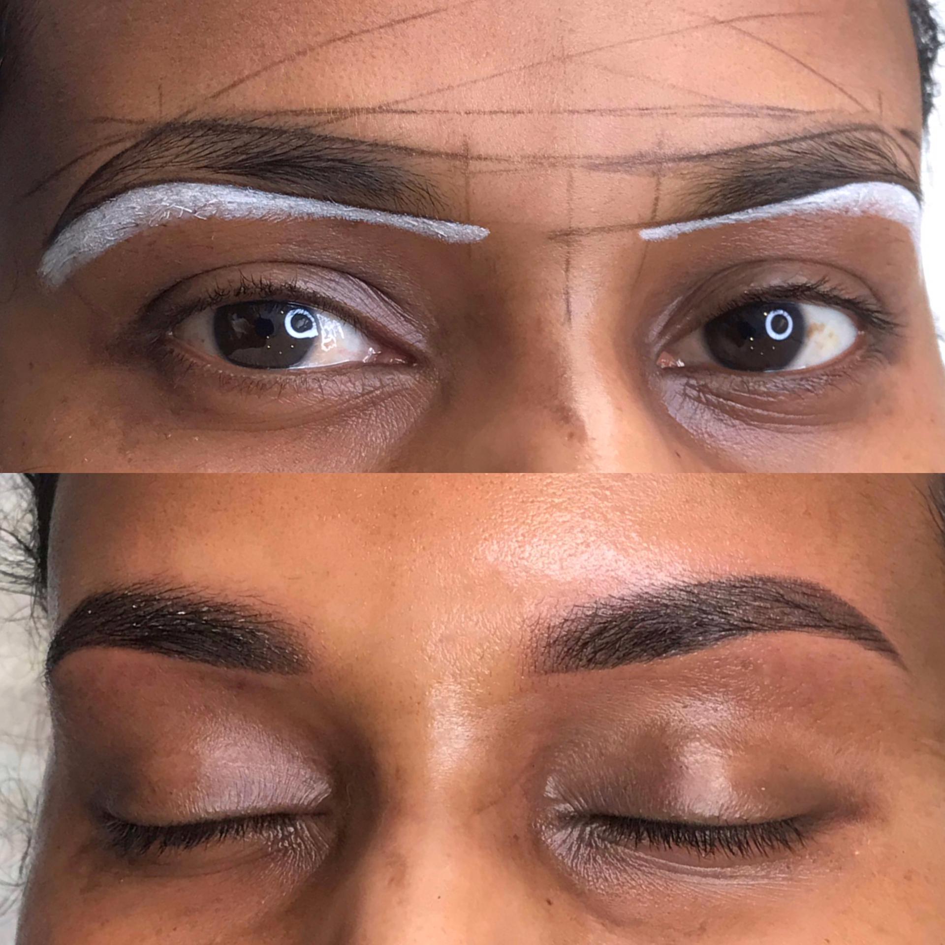 Dermatopigmentatie Powder Brows