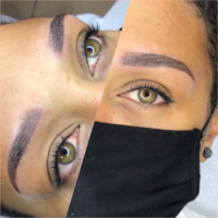 powder brows bij donkere huid dermatopigmentatie