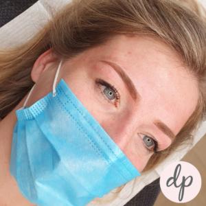 Dermatopigmentatie vrouw Soft ombré powDer Blonde