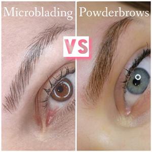 Verschil tussen Microblading en PowDer Brows