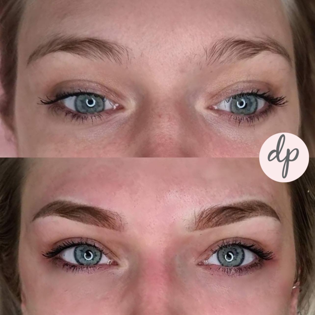 powderbrows direct na dermatopigmentatie