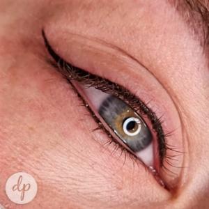Dermatopigmentatie secret liner boven en onder eyeliner