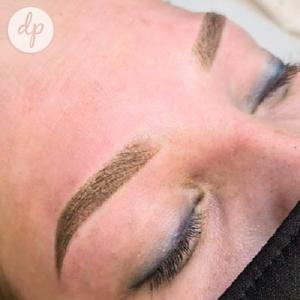 Dermatopigmentatie powderbrows by Kelly lichtbruin