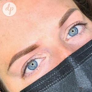 Dermatopigmentatie powderbrows by Kelly lightbrown