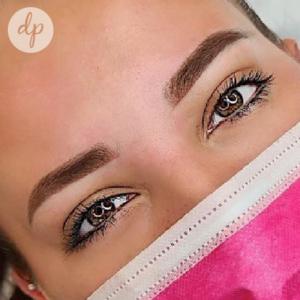 Dermatopigmentatie powderbrows by Kelly dark brown