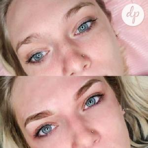 Dermatopigmentatie powderbrows by Kelly brown