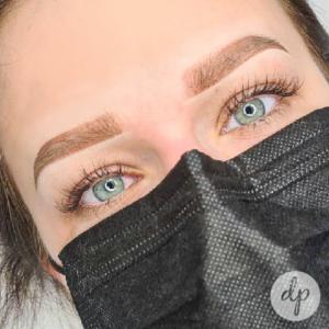 Dermatopigmentatie powderbrows by Kelly light brown