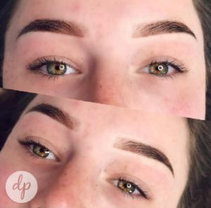 Dermatopigmentatie chabeli powderbrows dark brown