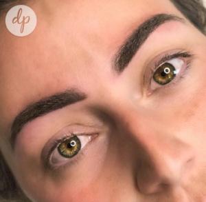 Dermatopigmentatie chabeli powderbrows darkbrown